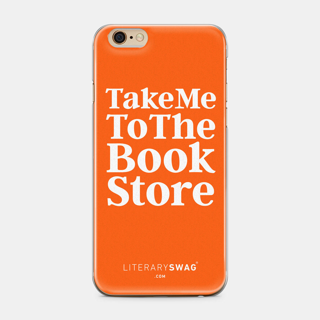Take Me To The The Book Store iPhone Case - Mister Bumbles Interactive