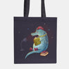 Dragon With The Girly Tattoo Tote Bag - LiterarySwag