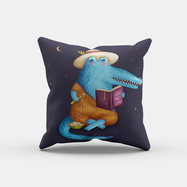Eat Prey Love Pillow - LiterarySwag