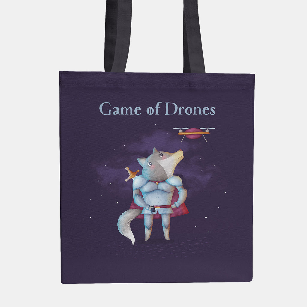 Game of Drones Tote Bag - LiterarySwag