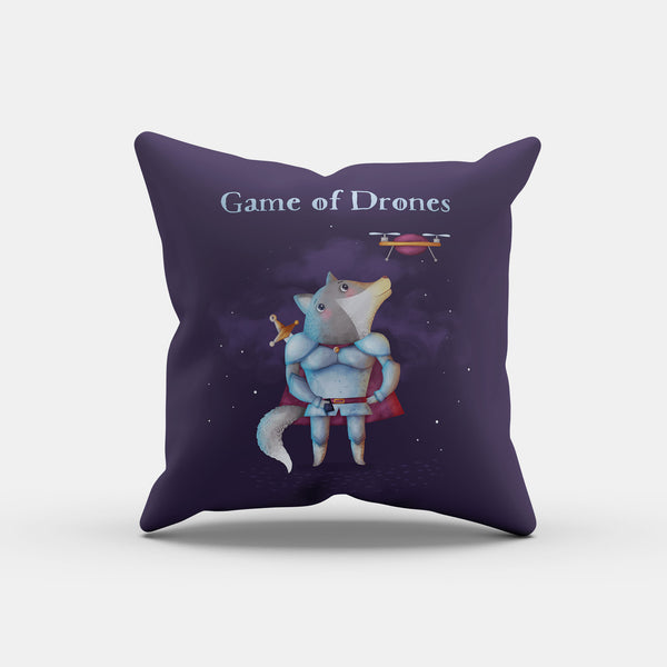 Game of Drones Pillow - LiterarySwag
