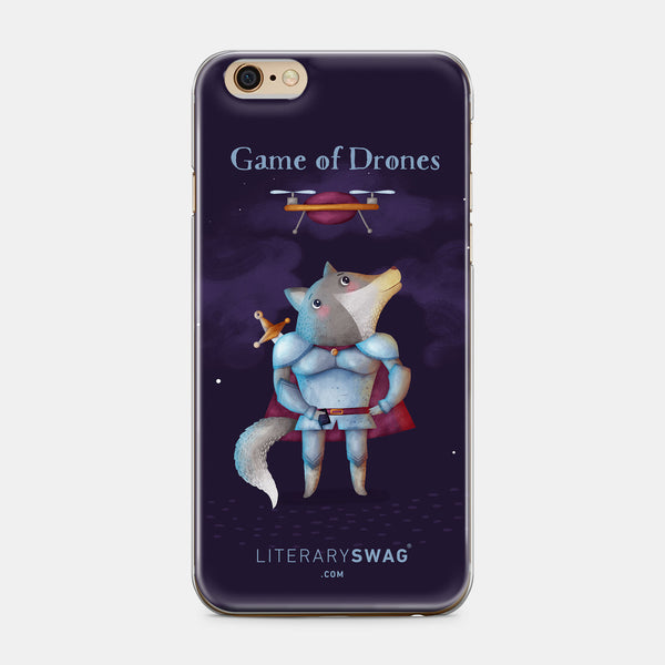 Game of Drones iPhone Case - LiterarySwag