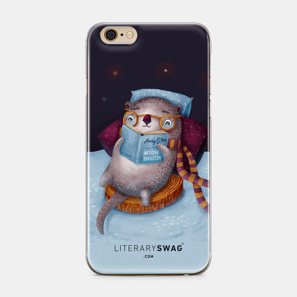 Harry Otter iPhone Case - LiterarySwag