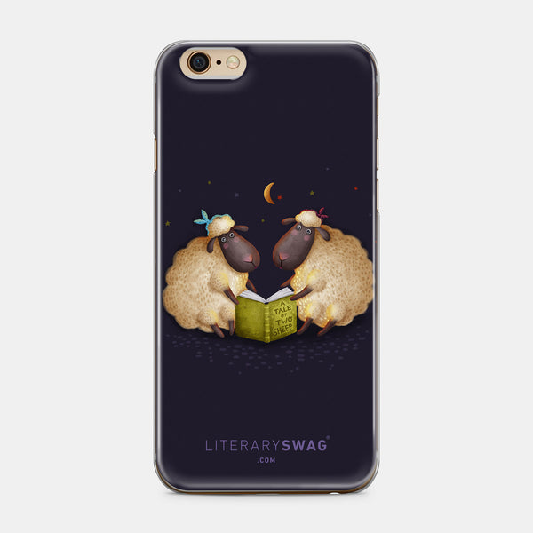 A Tale of Two Sheep iPhone Case - LiterarySwag