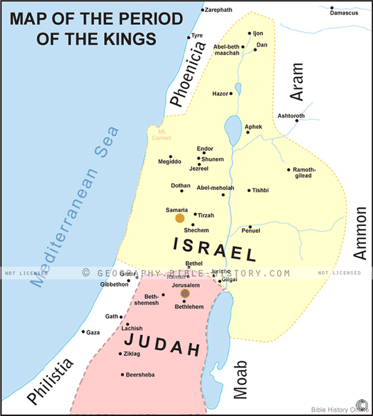 The Period of the Kings - Basic Map (Hi-Res. Download) 1-Year License