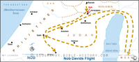 David's Flight to Nob - Basic Map (Hi-Res. Download) 1-Year License