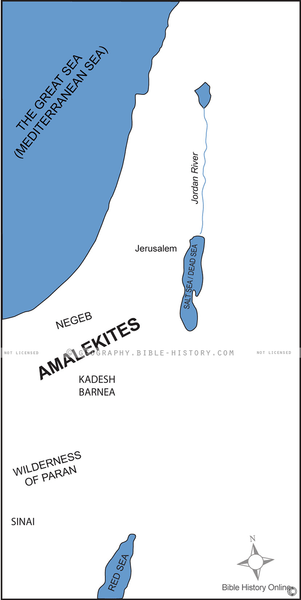 Amalekites Territory - Basic Map (Hi-Res. Download) 1-Year License
