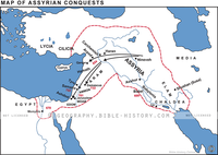Assyrian Conquests - Basic Map (Hi-Res. Download) 1-Year License