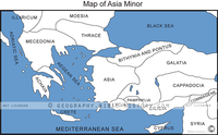 Asia Minor - Basic Map (Hi-Res. Download) 1-Year License