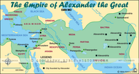 Alexander the Great's Empire - Color Map (Hi-Res. Download) 1-Year License