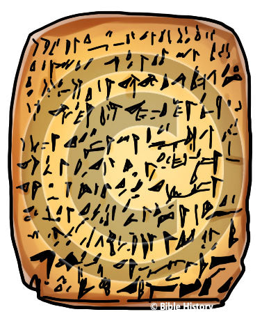 Amarna Letters - Bible Illustration (Hi-Res. Download) 1-Year License