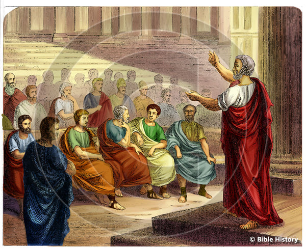 Athens Orator - Bible Illustration (Hi-Res. Download) 1-Year License