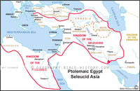 Ptolemaic Egypt Seleucid Asia - Basic Map (Hi-Res. Download) 1-Year License