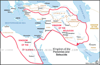 Kingdom of Ptolemies and Seleucids - Basic Map (Hi-Res. Download) 1-Year License