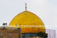 Dome of the Rock Mosque - Color Photo (Hi-Res. Download) 1-Year License