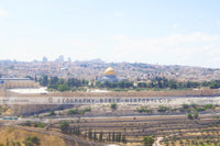 Dome of the Rock on the East - Color Photo (Hi-Res. Download) 1-Year License