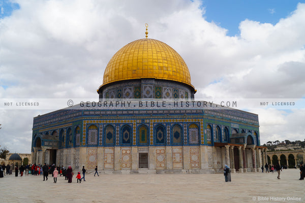 The Dome of the Rock (Hi-Res. Download) 1-Year License