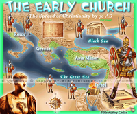 Early Church - Topo Color Map (Hi-Res. Download) 1-Year License