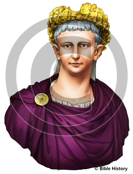 Emperor Claudius - Bible Illustration (Hi-Res. Download) 1-Year License