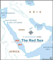 Exodus Red Sea - Basic Map (Hi-Res. Download) 1-Year License