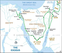 Exodus Route - Basic Map (Hi-Res. Download) 1-Year License