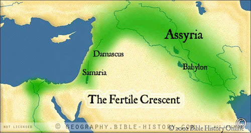 Fertile Crescent - Color Map (Hi-Res. Download) 1-Year License