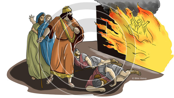Fiery Furnace - Bible Illustration (Hi-Res. Download) 1-Year License