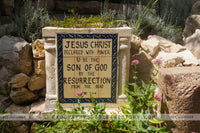 Garden Tomb Scripture - Color Photo (Hi-Res. Download) 1-Year License