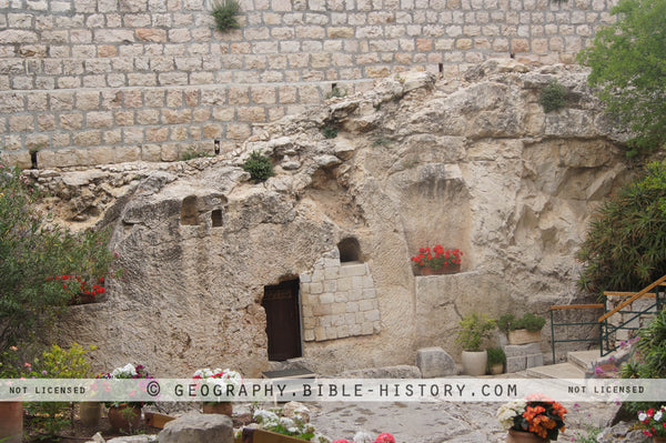 Garden Tomb - Color Photo (Hi-Res. Download) 1-Year License
