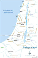 Genesis Israel - Basic Map (Hi-Res. Download) 1-Year License
