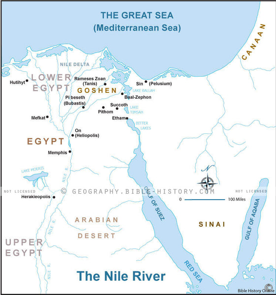 Genesis Nile River - Basic Map (Hi-Res. Download) 1-Year License