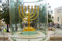 Golden Menorah - Color Photo (Hi-Res. Download) 1-Year License