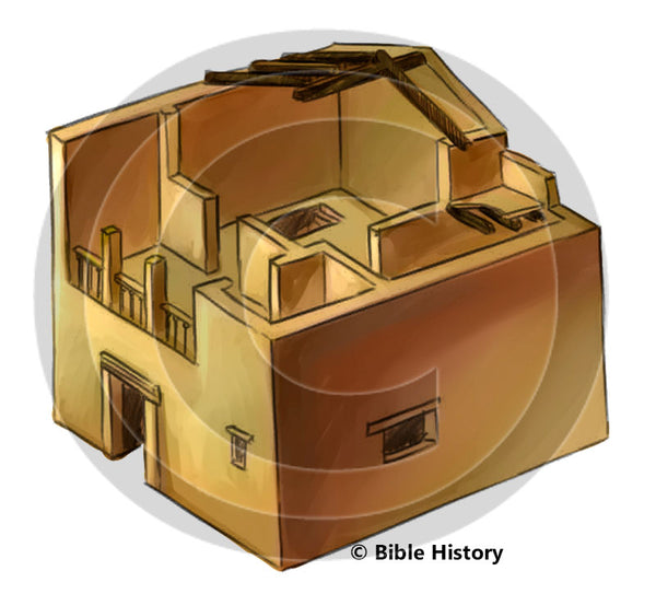 Greek House - Bible Illustration (Hi-Res. Download) 1-Year License