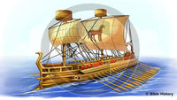 Greek Ship - Bible Illustration (Hi-Res. Download) 1-Year License
