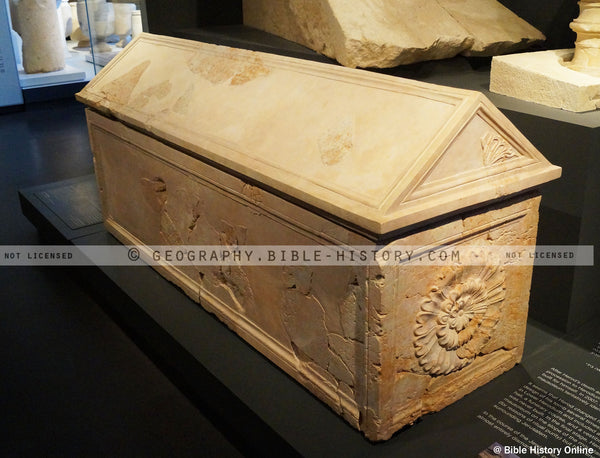 Sarcophagus of Herod the Great (Hi-Res. Download) 1-Year License