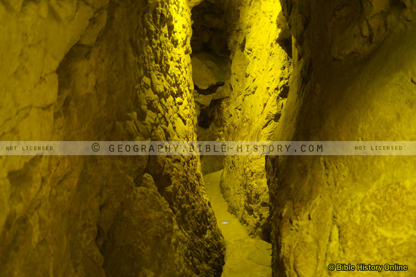 Hezekiah's Tunnel - Siloam Tunnel (Hi-Res. Download) 1-Year License