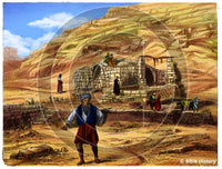 Jerusalem Walls Nehemiah - Bible Illustration (Hi-Res. Download) 1-Year License