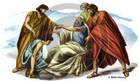 Judah Receives Jacob's Blessing - Bible Illustration (Hi-Res. Download) 1-Year License