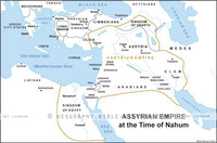 Nahum Assyrian Empire - Basic Map (Hi-Res. Download) 1-Year License