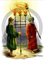 Oriental Torches - Bible Illustration (Hi-Res. Download) 1-Year License