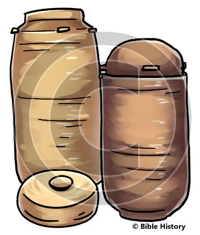 Qumran Jar - Bible Illustration (Hi-Res. Download) 1-Year License
