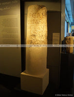 Roman Milestone with Inscription by the 10th Legion - Color Photo (Hi-Res. Download) 1-Year License