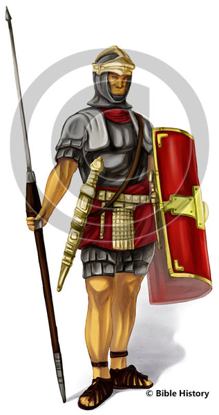 Roman Soldier - Bible Illustration (Hi-Res. Download) 1-Year License