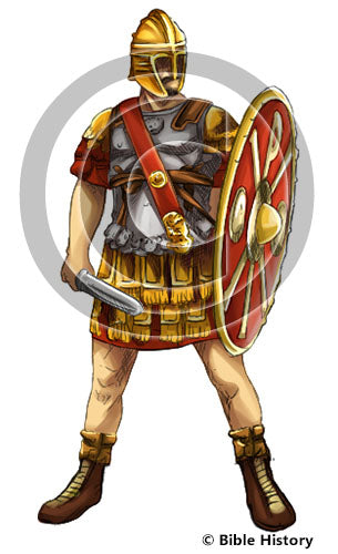 Roman Warrior - Bible Illustration (Hi-Res. Download) 1-Year License