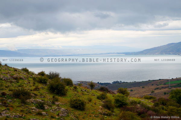 Sea of Galilee (Hi-Res. Download) 1-Year License