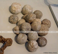 Sling Stones - 8th Cent. BC (Hi-Res. Download) 1-Year License