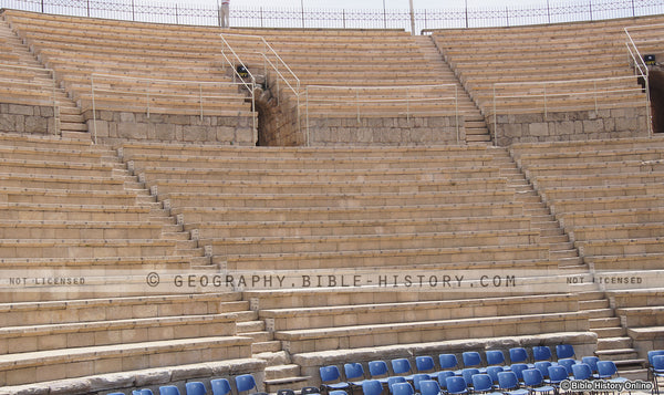 Theater Ruins at Caesarea - Color Photo (Hi-Res. Download) 1-Year License