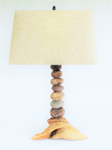 Rock Lamps | Stacked Stone Lamps