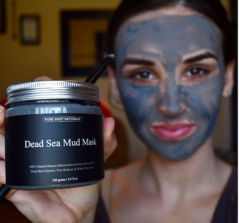 pure body naturals dead sea mud mask fresh face frey online clothing boutique