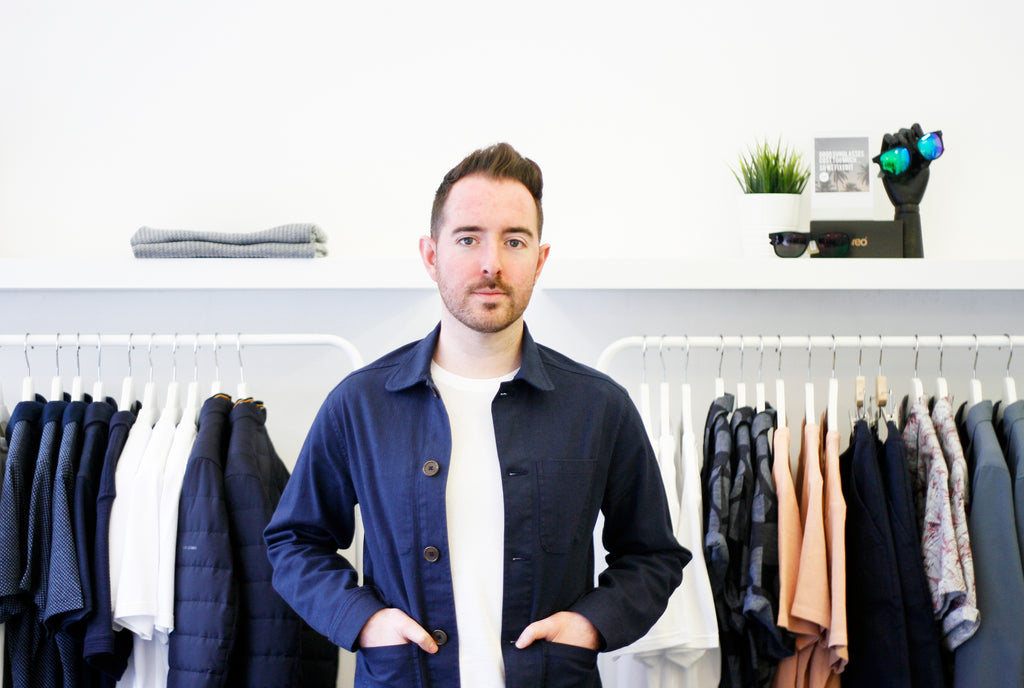 James Rennie owner of Glasgow's Ryan James Studio